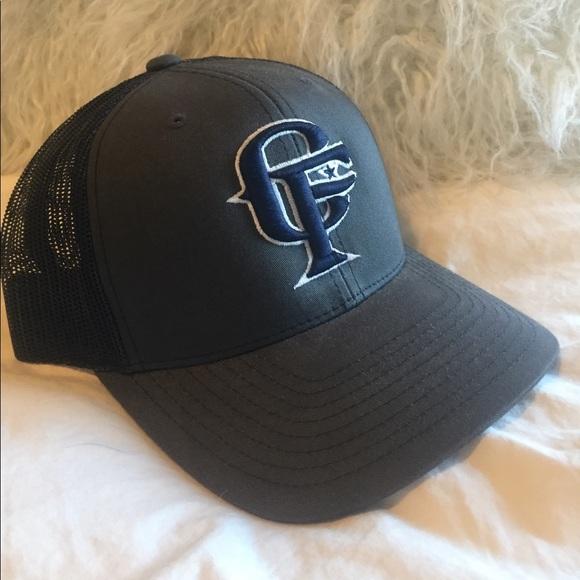 Accessories - Grey dark blue cowboy Fresh snapback hat